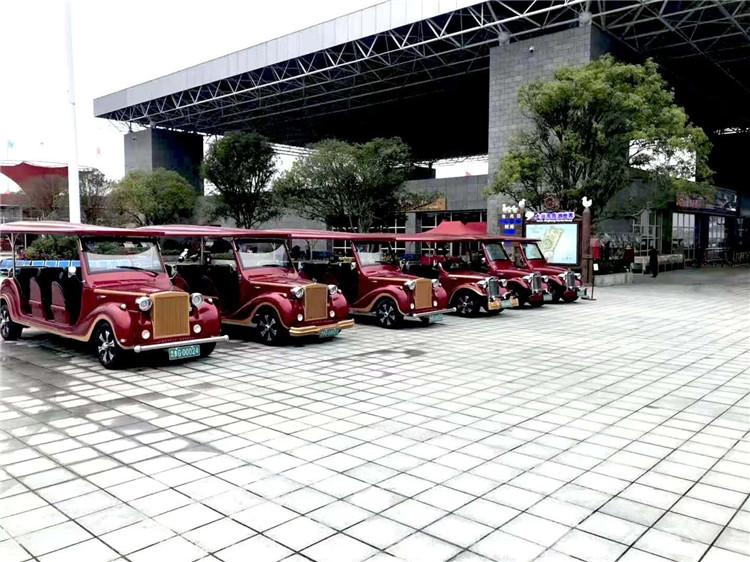 钱柜777娱乐_广西桂林疗养院采购一批湖南娄底大丰和电动旅游观光车
