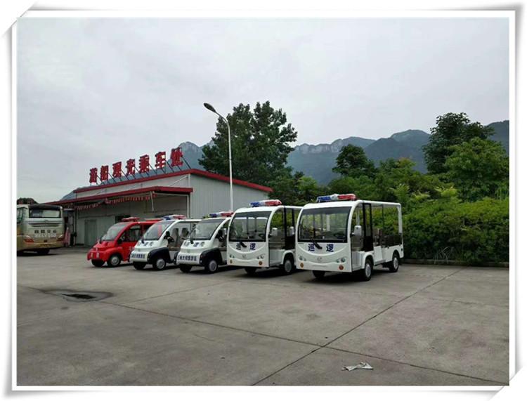 三峡大坝定制采购的观光游览巡逻车一批