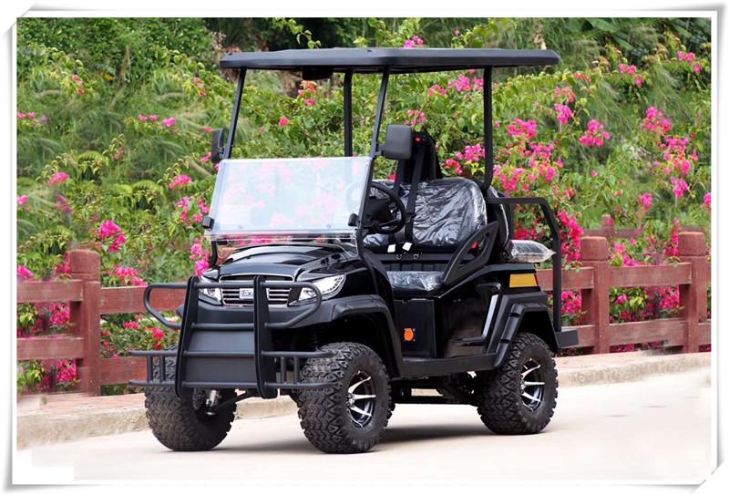 新款高尔夫球车厂家直销旅游景区乐动体育西班牙人会所接待电瓶车售楼部看房车酒店会所接待车